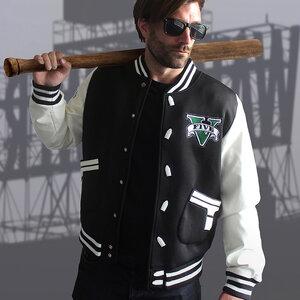 เสื้อแจ็คเก็ตเบสบอล Grand Theft Auto (GTA)