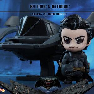 HotToys Cosbaby BATMAN & BATWING (ของแท้ลิขสิทธิ์)
