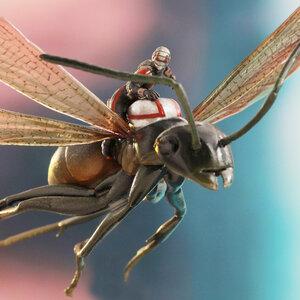 HT ANT-MAN on FLYING ANT Figure (ของแท้ลิขสิทธิ์)