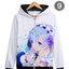 เสื้อฮู้ดกันหนาว Re-Zero Hoodie 2016 (มีให้เลือก 21 แบบ) thumbnail 10