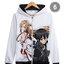 เสื้อฮู้ดกันหนาว ซอร์ดอาร์ตออนไลน์ Sword Art Online 2016 (มีให้เลือก 17 แบบ) thumbnail 7