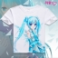 เสื้อยืดแขนสั้น Hatsune Miku (มีให้เลือก 24 แบบ) thumbnail 7