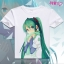 เสื้อยืดแขนสั้น Hatsune Miku (มีให้เลือก 24 แบบ) thumbnail 20