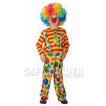 ชุดตัวตลกแฟนซีเด็กโบโซ่  BOSO Costume, Clown  มีขนาด M, L, XL