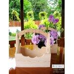 กระเช้าไม้สน Mini-Furniture ไม้สนเก๋ๆ เป็นกระเช้าสำหรับใส่ดอกไม้ประดับตกแต่ง หรือจะใส่ของอเนกประสงค์ต่างๆ ผลิตและจัดจำหน่ายโดย... TACTEAM #woodwork