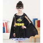 ชุดแบทเกิร์ล แบบที่ 1 Super Bat Girl ขนาด M, L, XL