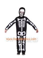 ชุดแฟนซีเด็ก ผีโครงกระดูก สำหรับวันฮาโลวีน Skeleton มีขนาด M, L, XL