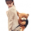 กระเป๋าสะพายหลังตุ๊กตาหมี (มีให้เลือก 2 ขนาด)