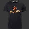 เสื้อยืด The Flash (วีรบุรุษเหนือแสง) สีดำ