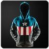 เสื้อฮู้ดกันหนาวกัปตันอเมริกา Captain America(2015)