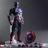 MARVEL UNIVERSE VARIANT: Play Arts Kai Captain America