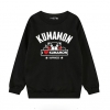 เสื้อกันหนาวแขนยาวคุมะมง Kumamon(สีดำ)