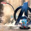 โคมไฟ LED Captain America กัปตันอเมริกา