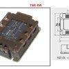 three-phase solid state relay SSR-75DA-H DC control AC ( 3เฟส 380V ) รีเลย์ (Relay)