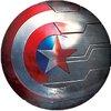 แบตสำรอง Power Bank : Captain America 6800Mha (ลิขสิทธิ์แท้)
