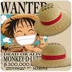 หมวกฟางลูฟี่วันพีช One piece Luffy (ของแท้ลิขสิทธิ์)