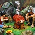 JacksDo - One Piece Diorama Silvers Rayleigh & Luffy