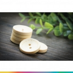 Wooden Button กระดุมไม้