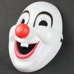 หน้ากาก ตัวตลก Clown Mask With Red Nose