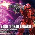 HG Orgin15 1/144 Char's ZakuI (The Origin) 1700yen