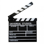 ป้ายผู้กำกับ Universal Studio Black Board