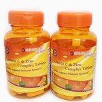 Vitamin C & Zinc Complex Tablets วิตามิน ซี แอนด์ ซิงค์ คอมเพล็กซ์