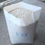 ถุงเพาะชำสีขาวนม ขนาด 8x16 นิ้ว เจาะรู หนา40ไมครอน 1 กก.