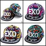 หมวก ลายกราฟฟิก EXO 3 สี 1 ใบ/แพค *ส่งฟรี*