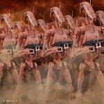 Pre_Order:P-bandai:1/12 Genosis Battle Droid Set 4752yen สินค้าเข้าไทยเดือน7 มัดจำ 1000บาท