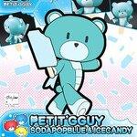HG PB13 1/144 Petitguy Sodapop Blue and Ice Candy 550yen
