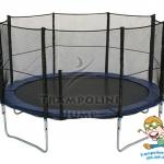 สปริงบอร์ดแทรมโพลีน trampoline ขนาด 12 ฟุต เล่นได้ทั้งครอบครัว รับน้ำหนักมากถึง 180 kg.