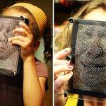 3D Pin Art Illusion  ของโชว์ไอเดียแปลก ตามจินตนาการ