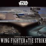 1/144 U-Wing Fighter & Tie Striker 2200yen