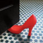 รองเท้าคั่นประตู สีแดง