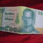 กระเป๋าสตางค์แบงค์ 500 ฿. บาท ไทย