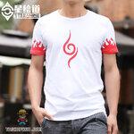 เสื้อยืดอนิเมะนารูโตะ Naruto ชาย/หญิง (แขนสั้น)