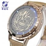 นาฬิกา LED จอสัมผัส Tokyo Ghoul รุ่นสีทอง (ของแท้)