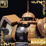 Pre_Order:P-bandai:MG 1/100 MS-06R-1A Zaku II High Mobility Type [Masaya Nakagawa] 4860yen สิินค้าเข้าไทยเดือน9 มัดจำ1000บาท