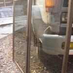 **มือสองสภาพดี สำหรับตกแต่งต่อเติม**หน้าต่างบานกระจกสีชาขอบอลูมิเนียม 0.75 เมตร x 1.33 เมตร กระจก + อลูมิเนียม