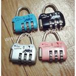 กุญแจล็อครหัส ใช้ล็อคกระเป๋า
