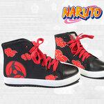รองเท้าผ้าใบลายนารูโตะ อุจิวะ อิทาจิ