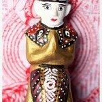 มะเตรี กุมารศิลปะพม่า กุมารปั้นมือทีละตน พรายแท้ๆ (ขนาดบูชา)