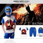 SET 3 ชิ้น Batman หน้ากาก + เสื้อ + กระเกง ไซส์ 130-140-150-160 4 ตัว/แพค *ส่งฟรี*