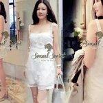 Noble Silk Dress by Seoul Secret