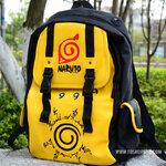 กระเป๋าเป้สะพายนารูโตะ(สีเหลือง)