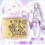 กระเป๋าสตางค์ Re - Zero : Emilia (ของแท้)