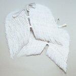ปีกนางฟ้าขนนก สีขาว Angel Wings ปีกขนาดใหญ่