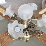 [Ceiling Light]: Antique Ceilling Light เป็นงานทองเหลือง มีพัดลมสวยงามสุดหรู เอาไว้โชว์สวยๆหรือเอาไปซ่อมงานไฟได้สวยๆ ราคาถูกมากค่ะ