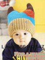 หมวกถักไหมพรม หลากสี เหมาะสำหรับเด็ก 2 เดือน ถึง 3 ขวบ ใบใหญ่น่ารักค่ะ สีสันสดใส