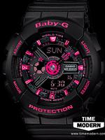 นาฬิกา Casio Baby-G standard Ana-Digi รุ่น BA-111-1ADR
